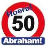 Huldeschild Abraham jaar - Partytentverhuur Dordrecht