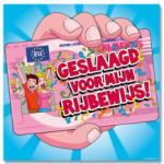 Huldeschild geslaagd rijbewijs - Partytentverhuur Dordrecht