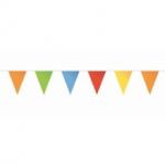 Multikleur vlaggetjes 10 meter kopen - Partytententverhuur Dordrecht