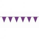 Paarse vlaggetjes 10 meter kopen - Partytententverhuur Dordrecht