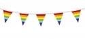 Regenboog Vlaggetjes 10 meter kopen - Partytentverhuur Dordrecht