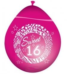 Roze sweet sixteen ballonnen - Partytentverhuur Dordrecht