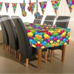 Tafelkleed balloons - Partytentverhuur Dordrecht