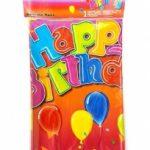 Tafelkleed happy birthday - Partytentverhuur Dordrecht