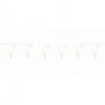 Witte vlaggetjes 10 meter kopen - Partytententverhuur Dordrecht