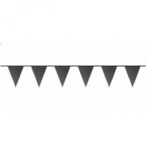 Zwarte vlaggetjes 10 meter kopen - Partytententverhuur Dordrecht
