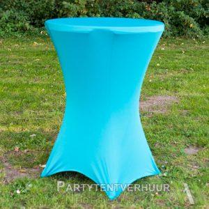 Statafel-met-rok-lichtblauw-huren-Partytentverhuur-Dordrecht