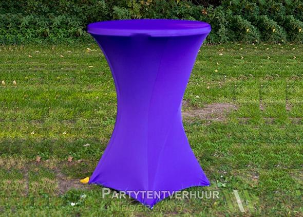 Statafel met rok roze huren Partytentverhuur Dordrecht