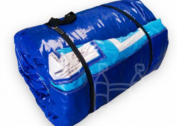 Levend tafelvoetbal transportverpakking