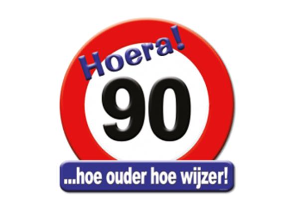 Huldeschild 90 jaar - Partytentverhuur Dordrecht