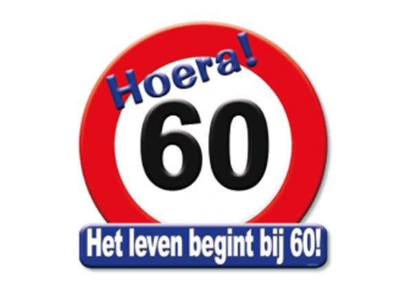 Huldeschild 60 jaar - Partytentverhuur Dordrecht