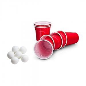 24 cups en pingpong ballen bestellen